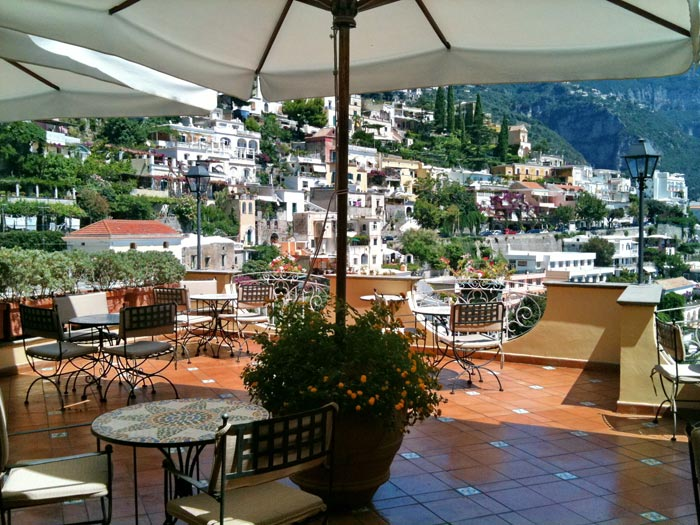Restaurant Positano Hotel Posa Posa Amalfi Coast