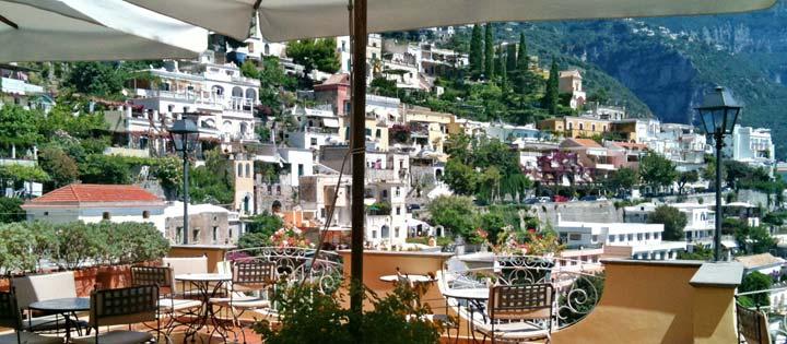 Restaurant Positano Hotel Posa Posa, Amalfi Coast